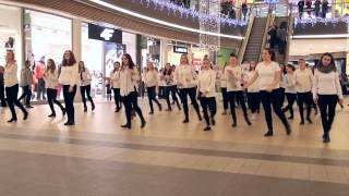 """Flash Mob Skłodowska Dąbrowa Górnicza """"All I Want For Christmas Is You"""""""