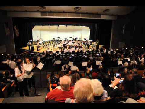 "West Essex Middle School Band performs ""Little Bolero Boy"""