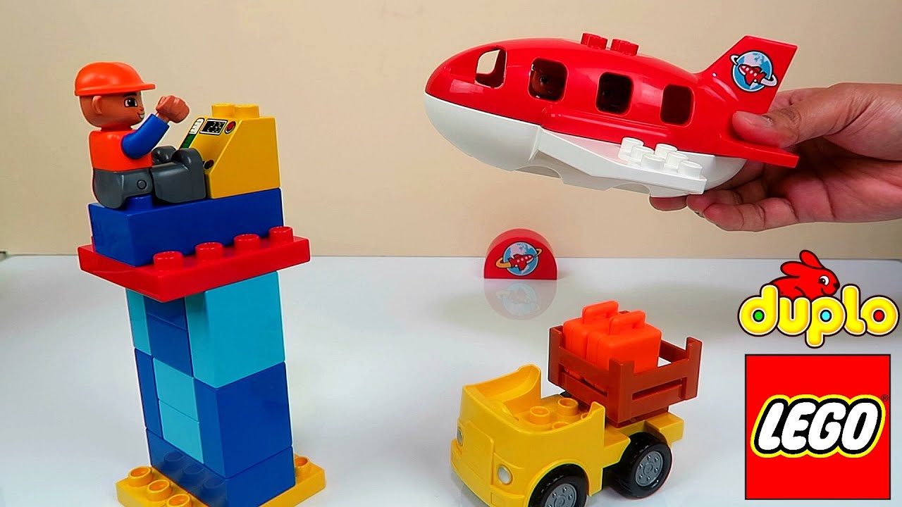 UNBOXING & BUILDING LEGO Lego Duplo Airport Playset FUN Toy Video