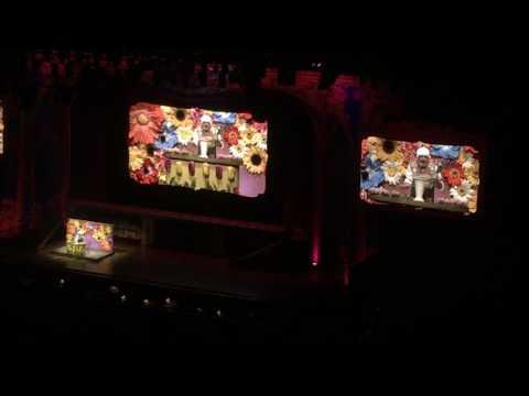 Monty Python Reunion 2014 Gumby Flower Arranging