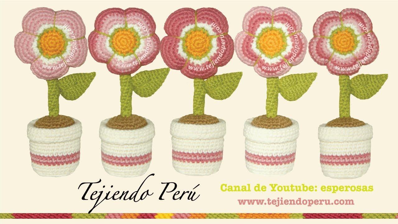 Crochet De Flores Grandes