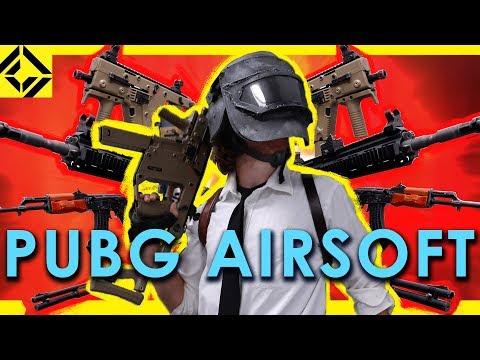 ALL the PUBG Guns for AIRSOFT!