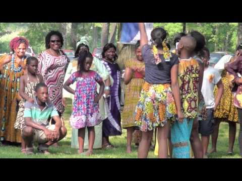 Cameroon's Yemba USA Group 2015 Festival - Language Activities
