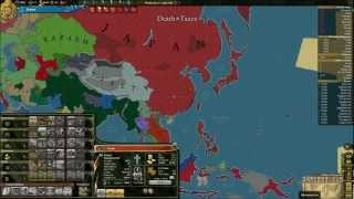 EU3 Death and Taxes: Empire of Japan Campaign Showoff