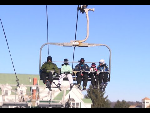Boy Injured After Falling Off Ragged Mountain Chairlift - YCN News 1.4.16