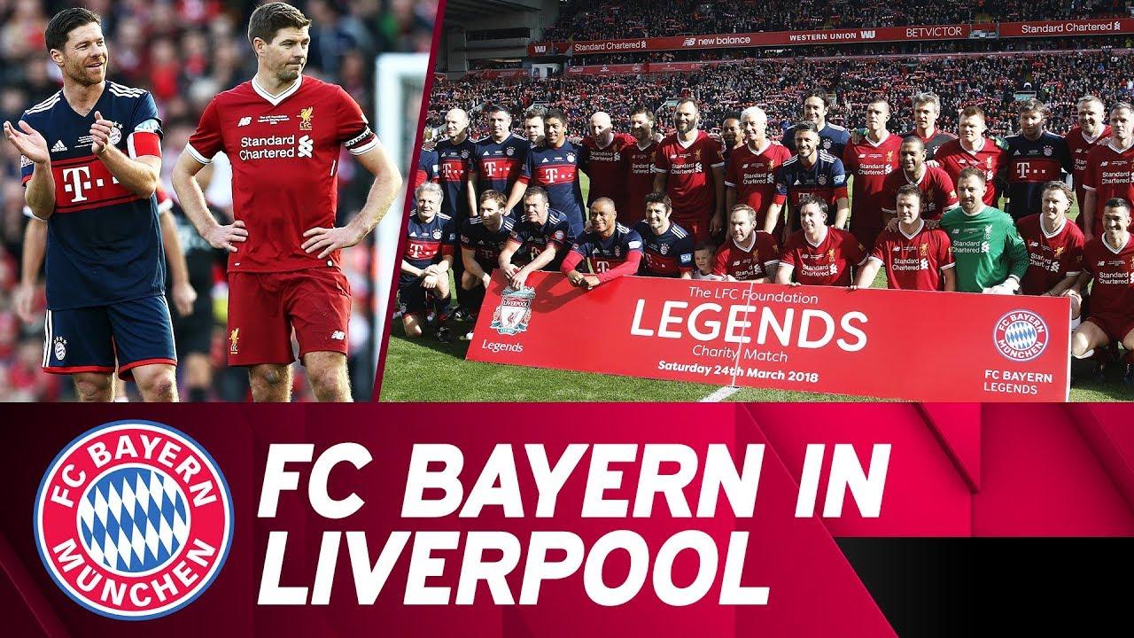 Ein Unvergessliches Wochenende Der Fc Bayern Zu Gast In Liverpool