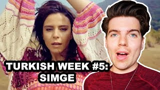REACTION: SIMGE - BEN BAZEN | TURKISH WEEK #5 Video