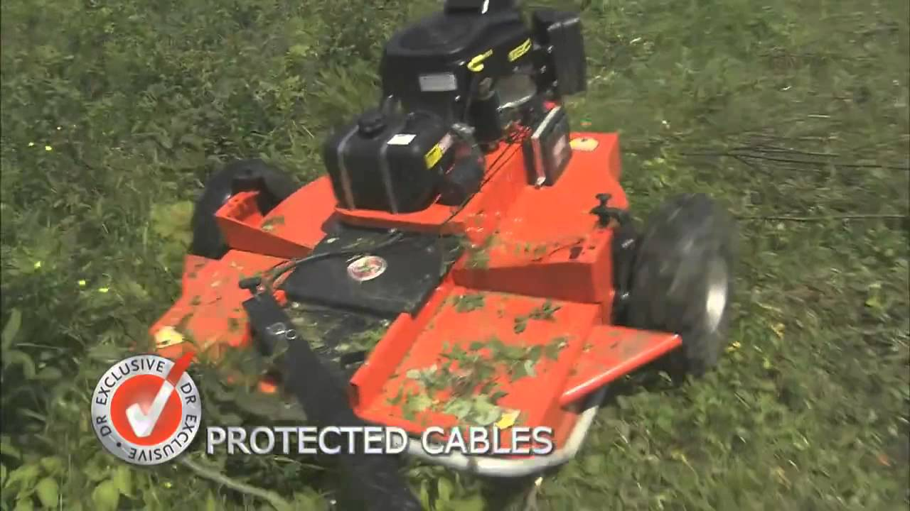 Tow Behind Brush Mower Innovative Design from DR Power at Tyson Mowers  Lincoln