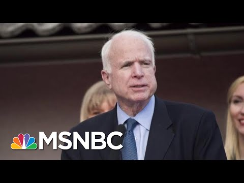Why Is The GOP Silent As President Donald Trump Attacks McCain?   MTP Daily   MSNBC