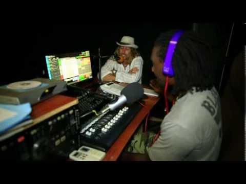 JOn Blond interview - Falls FM, Livingstone Zambia