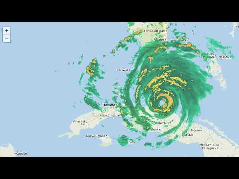 Tracking Irma streamed live from Miami