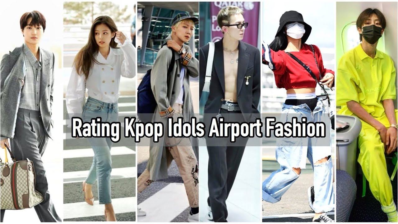 Rating the best kpop idol airport fashionrated-k