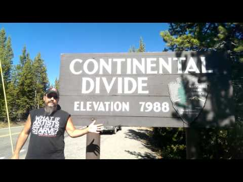 Continental Divide... what is that exactly?  On the Road