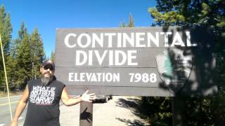 Continental Divide... what is that exactly? | On the Road