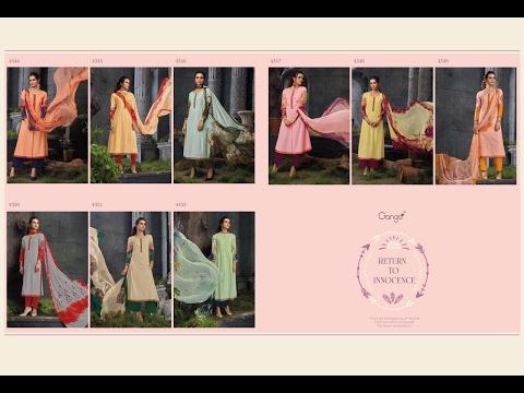 latest indian dresses collections 2017 || Ganga Fashions Pvt Ltd || Ganga Cotton Viol