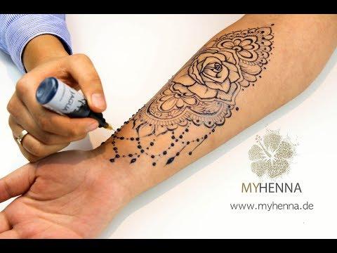 Amazing Temporary Tattoo Made With Jagua Gel Henna City