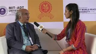 Dr N. M. Kondap's views on internal spirit at World Peace Dome