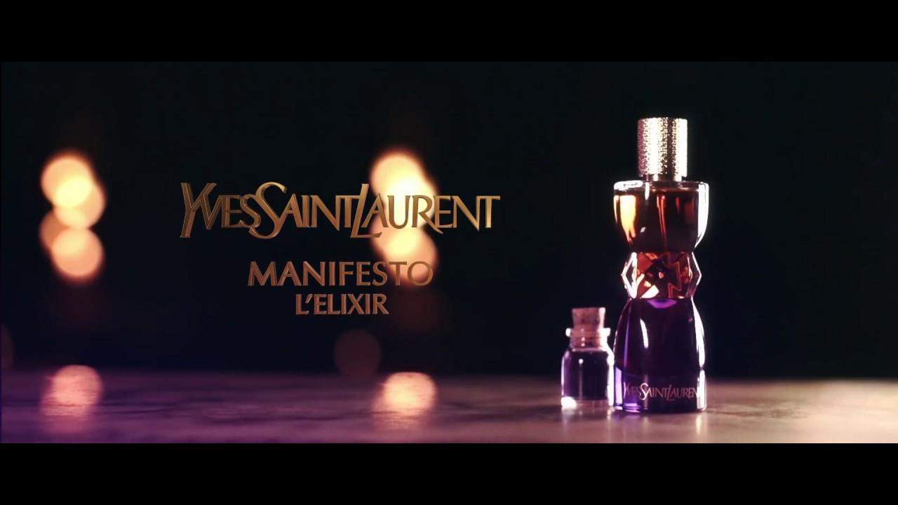 Manifesto Lelixir Yves Saint Laurent Youtube