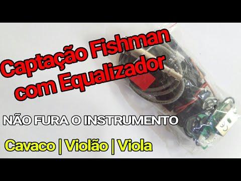 MELHOR CAPTAÇÃO DO MUNDO PARA INSTRUMENTOS MUSICAIS *Fishman* Cavaco Violão Viola