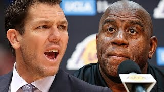 Magic & Luke Haven't Spoken In WEEKS & Lakers Young Squad Lost Trust In LeBron After AD Trade Fail!