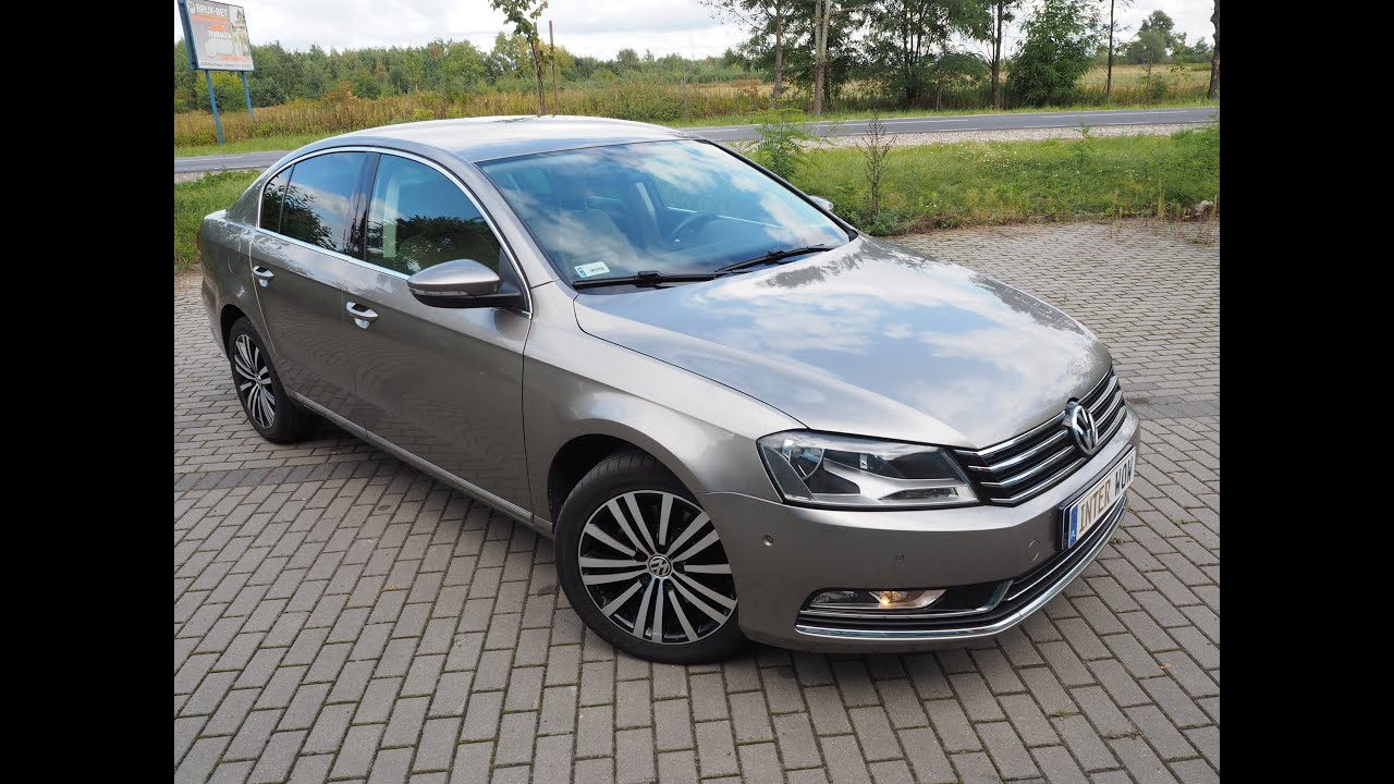 vw passat sedan limuzyna b7 2013 177km dsg6 higline diesel 2 0 tdi bluemotion start stop youtube. Black Bedroom Furniture Sets. Home Design Ideas