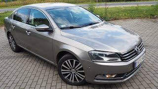 vw passat sedan limuzyna b7 2013 177km dsg6 higline diesel 2 0 tdi bluemotion start