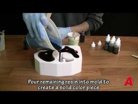 Mold Making & Casting Tutorial : How to make rock climbing holds - Alumilite Dyes