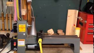 8 X 12 Harbor Freight Mini Wood Working Lathe Review