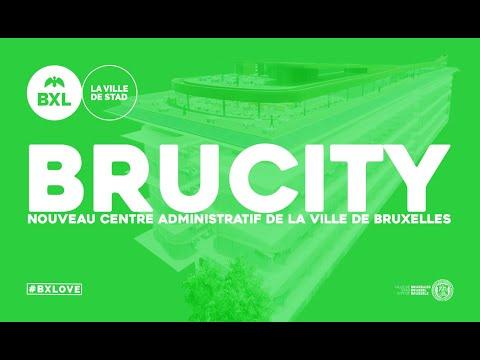 Brucity : Nouveau Centre administratif de la Ville de Bruxelles (version courte)