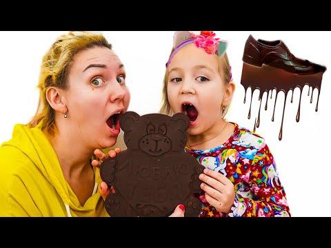 Алиса и мама - история для детей про вредные сладости и конфеты