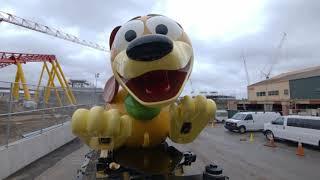 First Look: Slinky Dog Dash roller coaster ride vehicle arrives at Toy Story Land, Walt Disney World