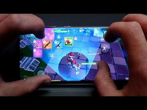 Playing Fortnite On The BEST Mobile Device!