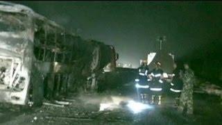 عشرات القتلى في الصين اثر حادث سير