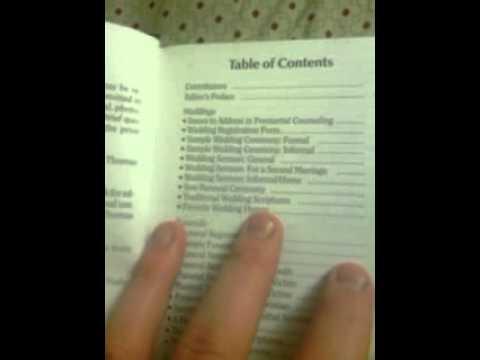 nelson s minister s manual kjv edition youtube rh youtube com nelson minister manual pdf nelson minister manual pdf