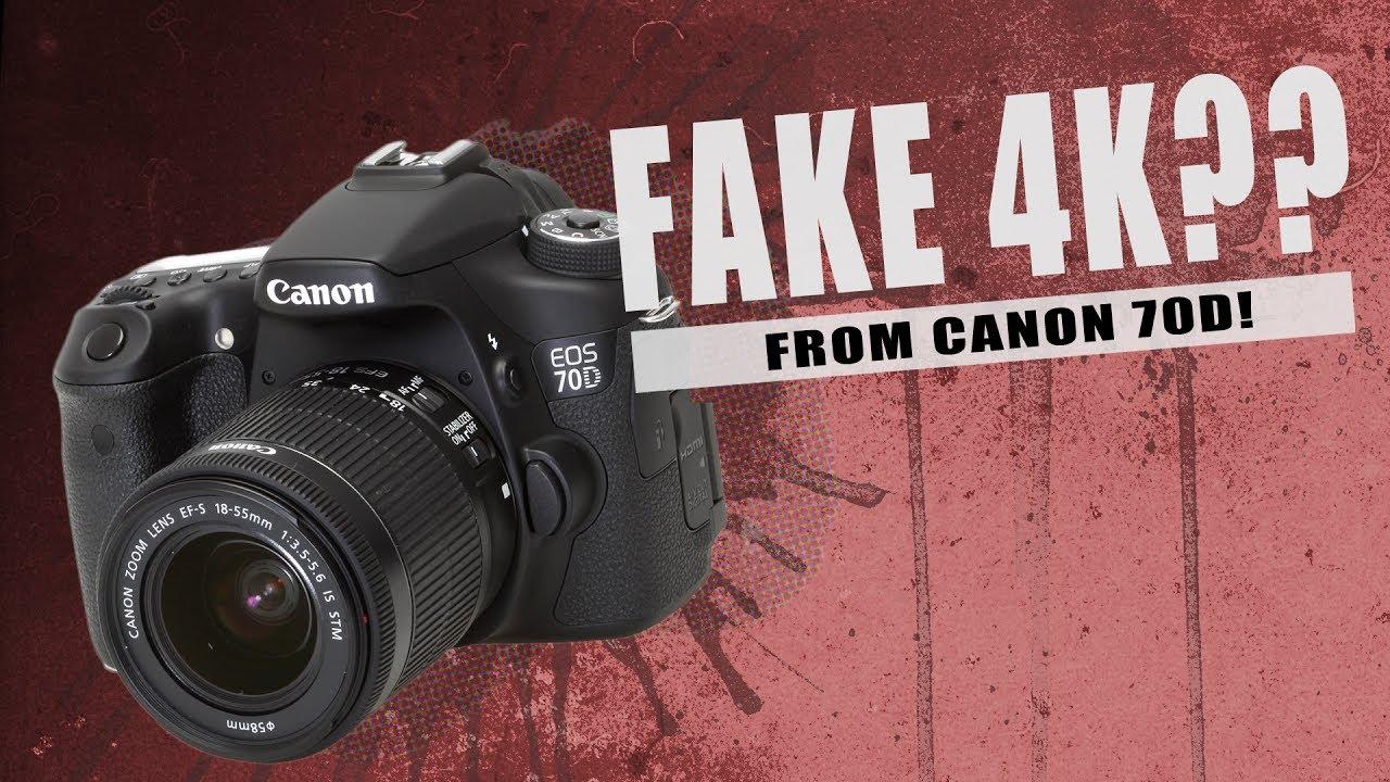 Canon 70d 4k hack