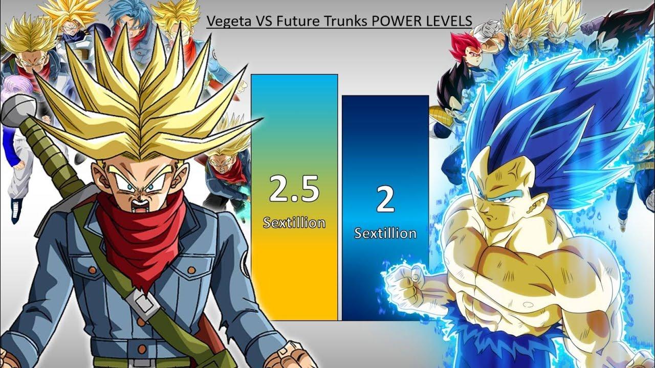 Future Trunks Vs Vegeta