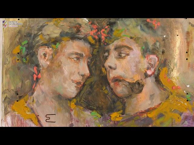 Bucuria ființării - vernisajul expoziției de pictură a studenților UAD