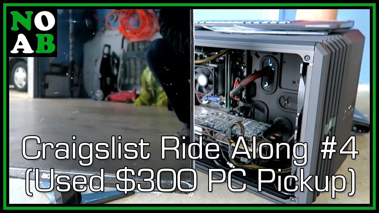 Used $300 Gaming PC Pickup - Craigslist Ride Along #4 ...