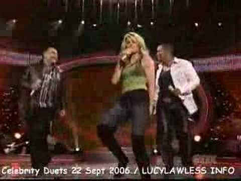 Lucy Lawless Celebrity duets 2006