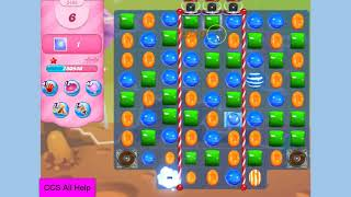 Candy Crush Saga Level 3493 16 moves NO BOOSTERS