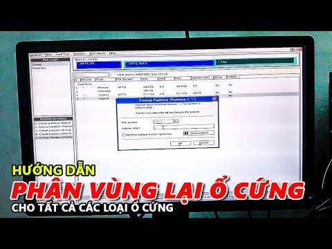 HƯỚNG DẪN PHÂN VÙNG LẠI Ổ CỨNG - CÁCH CHIA PHÂN VÙNG Ổ CỨNG RA SAO? - Chu Đặng Phú - Phu's Vlog