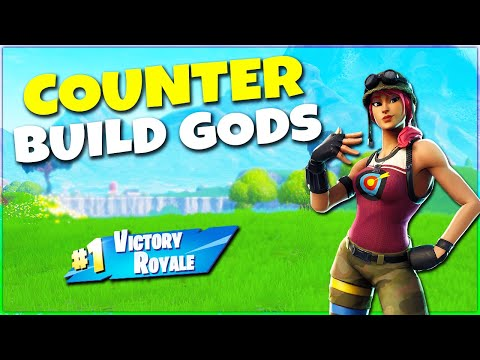 How To Counter Building Gods on PC! | Fortnite Tips