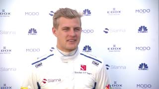 Sauber F1 Team first on the racetrack - Interview with Marcus Ericsson | AutoMotoTV