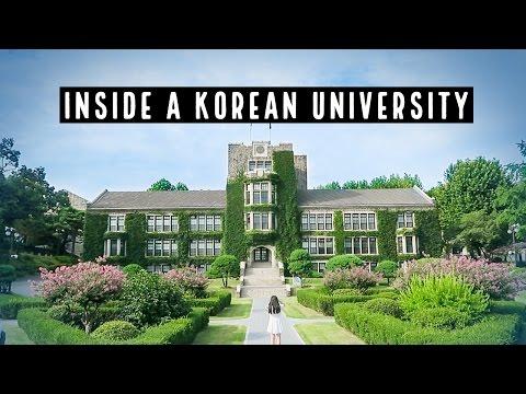 Inside Korea's Presitigious University ► Tour of Yonsei