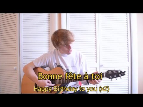 Happy Birthday Song in Cajun French (Bonne Fête en français cadien)
