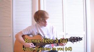 Happy Birthday Song in Cajun French (Bonne Fête en français cadien)