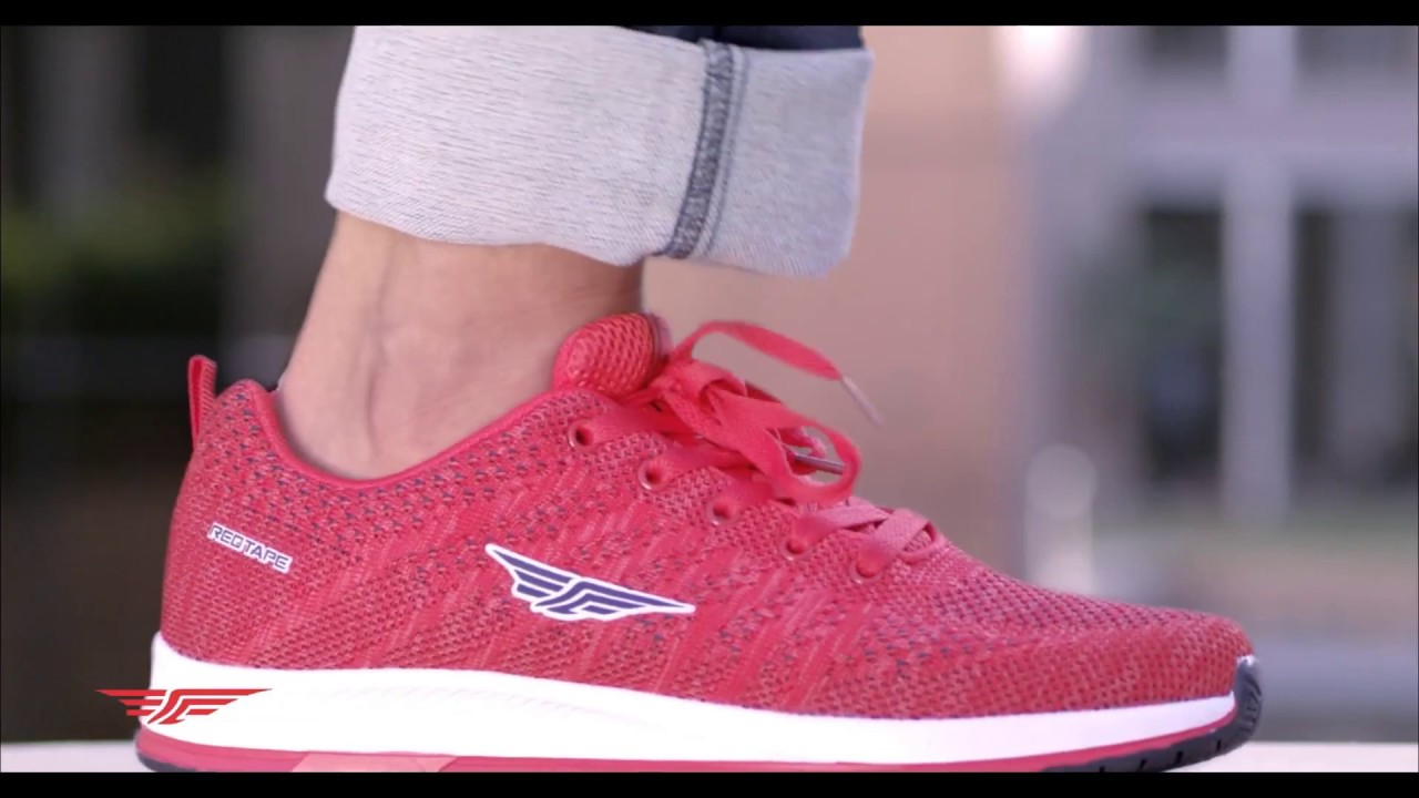 RED TAPE SHOES l Only for winners - YouTube