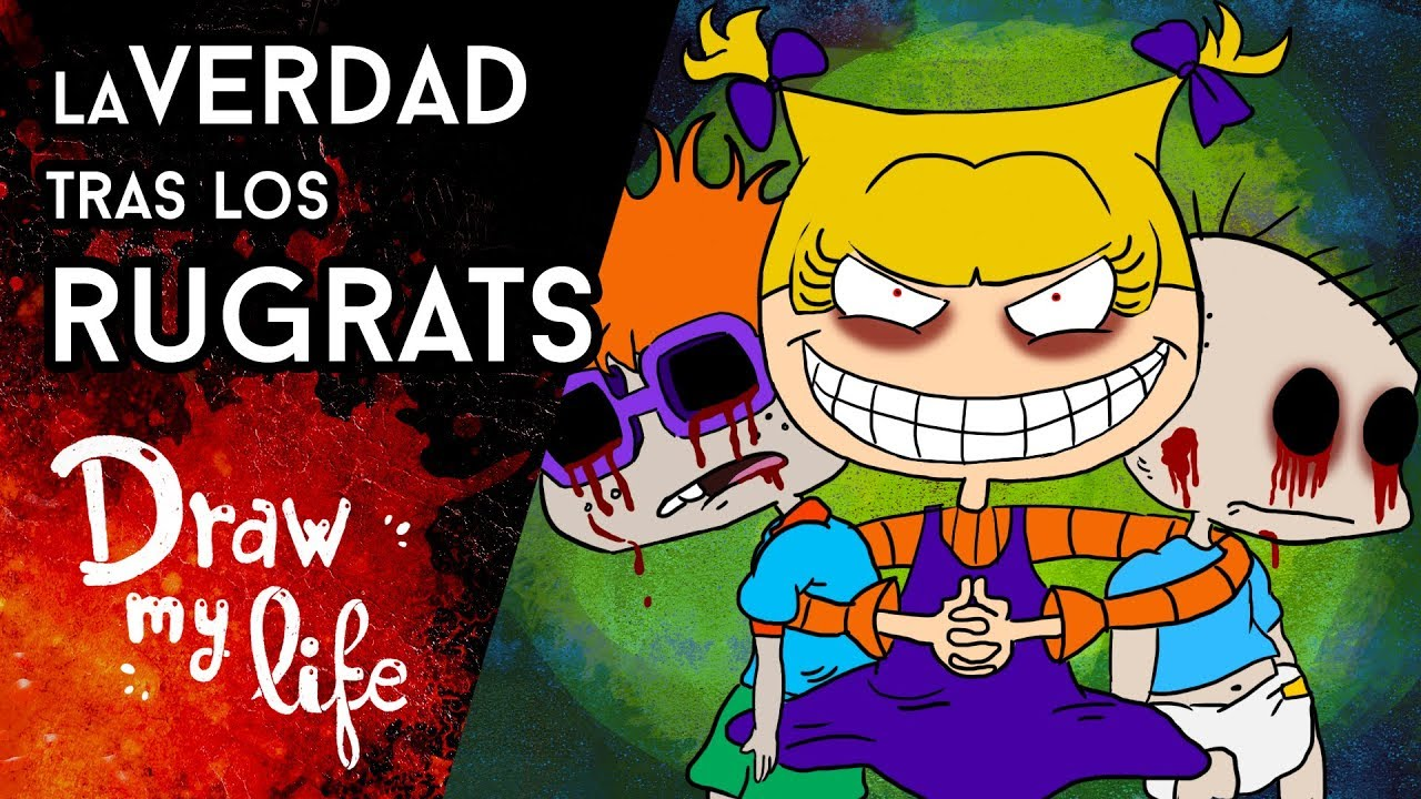 La TERRIBLE VERDAD de los RUGRATS - Draw My Life
