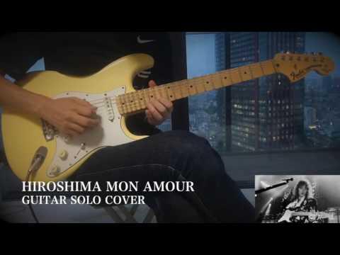 Yngwie/Alcatrazz - Hiroshima Mon Amour - Guitar Solo Cover