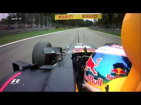 Ricciardo's Cheeky Overtake on Bottas at Monza 2016  | F1 is...Intoxicating